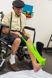 "Seniors can continue physical therapy even if they have ""plateaued"""